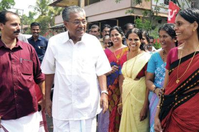 Pinarayi Vijayan starts his election campaign at Parappuram