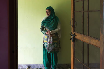 THE FIGHTER: Shayara Bano at a friend's home in Kashipur (Photo: T NARAYAN)