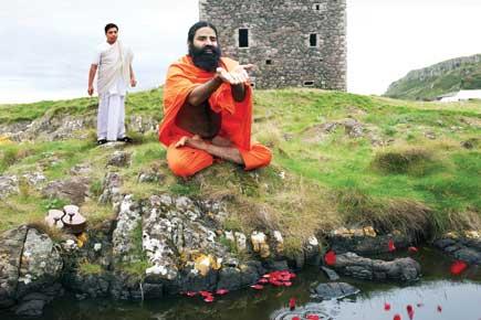 Baba Ramdev and Acharya Balkrishna (Getty Images, Photo Imaging: Anirban Ghosh)