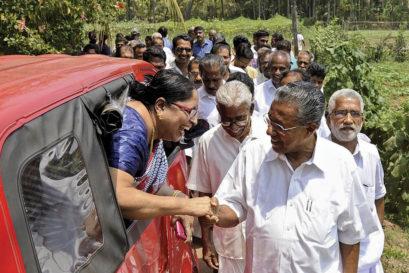 CPM leader Pinarayi Vijayan