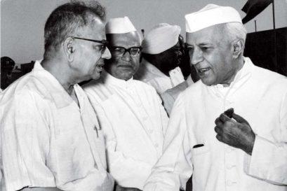TT Krishnamachari and Jawaharlal Nehru