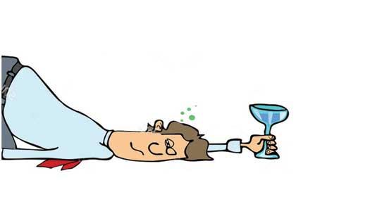 Alcohol Weirdness