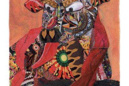 Kamdhenu's Wrath by Amruta Patil from Sauptik: Blood and Flowers