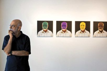 Ashok Ahuja and his work, CMYK: Portrait of the Artist as a Man of Color