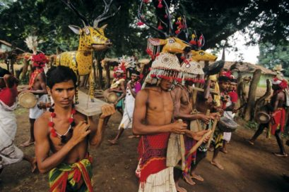 Murias, from Baniagaon in Bastar region, are one of India's oldest tribes