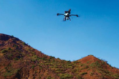 Ideaforge's Unmanned Aerial Vehicle, NETRA