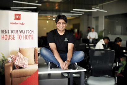Geetansh Bamania of Rentomojo at the rental service's office in Mumbai