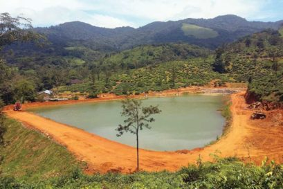 An unauthorised artificial lake in Wayanad that has led to water scarcity in the area