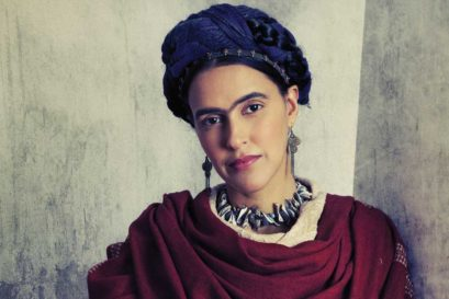 A photograph of Frida Kahlo (Neha Dhupia)