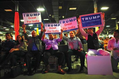Indian-Americans organised an event to support Trump in New Jersey