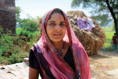 Munni Devi, 30, tenant farmer