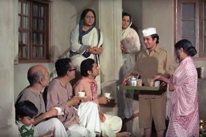 A scene from Bawarchi