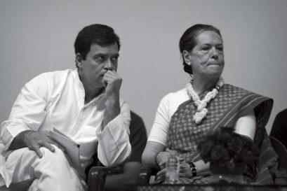 Rahul and Sonia Gandhi attend celebrations for Nehru's 125th birth anniversary
