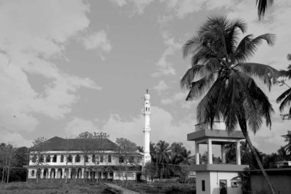 Padanna's Jama Masjid was constructed in Kerala's traditional temple architecture style
