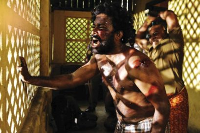 A scene from the film Visaranai, inspired by Lock-Up