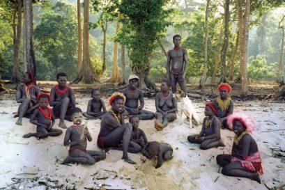 Members of the Jarawa tribe