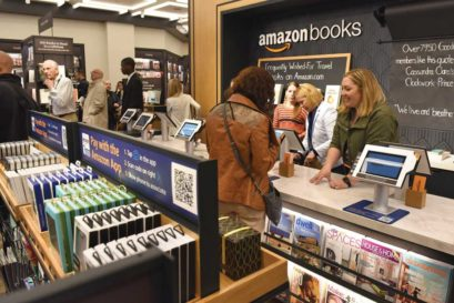 New York's first Amazon Books store at Time Warner Centre, Manhattan