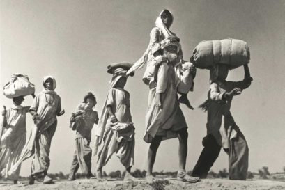 Hindus from Pakistan cross the border to India, 1947