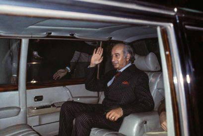 Zulfikar Alî Bhutto in Islamabad in 1977