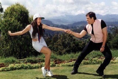 Karisma Kapoor and Govinda in David Dhawan's Haseena Maan Jayegi (1999)