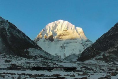 Sunrise at Mount Kailash