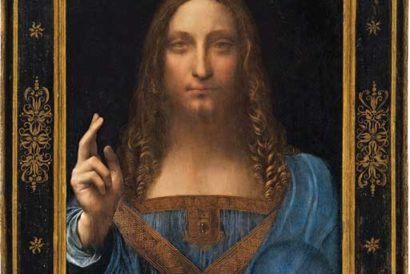 Salvator Mundi by Leonardo da Vinci was auctioned for $450.3 million this year, making it the most expensive piece of art in history