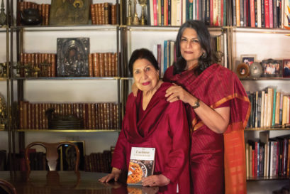 Chand Sur (left) and Sunita Kohli
