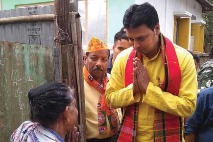 Biplab Deb, State party president, Tripura