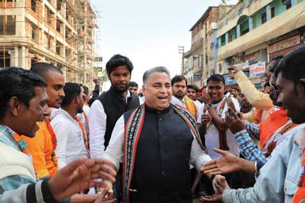 Sunil V Deodhar, Leader in charge of Tripura