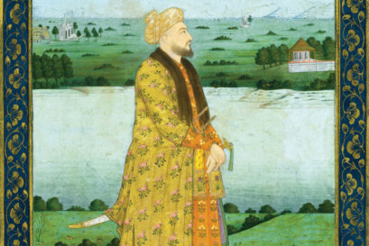 A portrait of Mir Jafar Khan