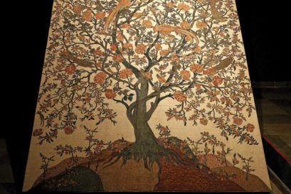 Tree of Life II in kalamkari