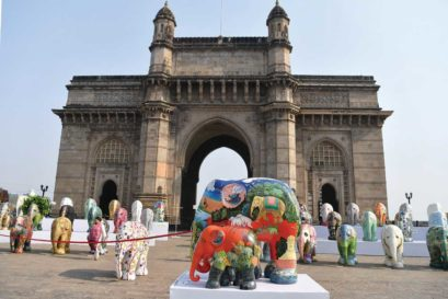 The Elephant Parade in Mumbai