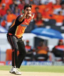 Bhuvneshwar Kumar (SRH) (Photo: Sportzpics)