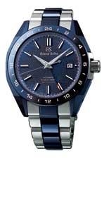 "GRAND SEIKO: BLUE CERAMIC HI-BEAT GMT ""SPECIAL"" LIMITED EDITION"