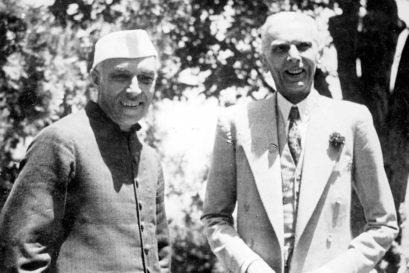 Nehru and Jinnah, 1946