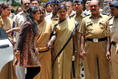 Maria Susairaj was released from Mumbai's Byculla jail in 2011