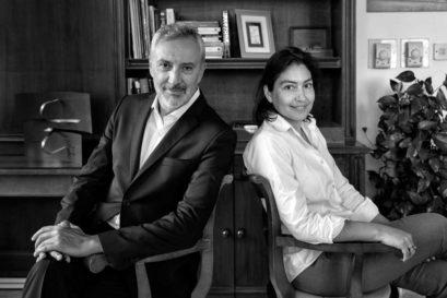 Lorenzo Angeloni and Maria Elettra Verrone