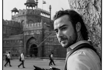 """Every city, every country, is an education of sorts that stays with me longer than anything I will ever learn in a classroom. India has been more of everything,"" says David Lagane, 24, student of International management, Perpignan, France (Photographed at Red Fort)"