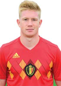 Kevin De Bruyne, Belgium