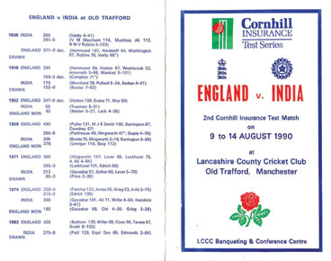 A timeline of India-England encounters at Old Trafford