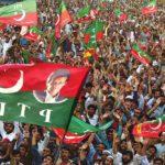 An Imran Khan election rally
