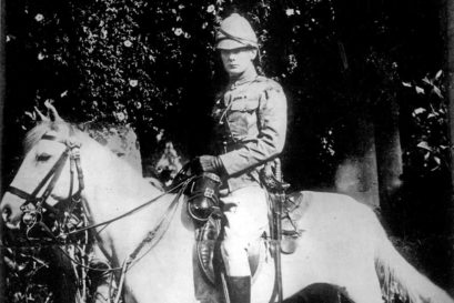 As a British soldier in India, 1896