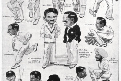 The first Indian team to tour England in 1932