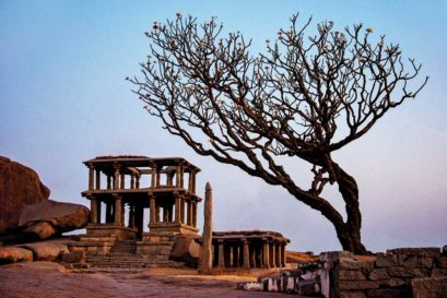 The shattered ruins of Hampi