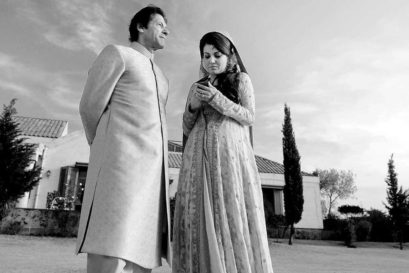 Reham and Imran Khan, 2015