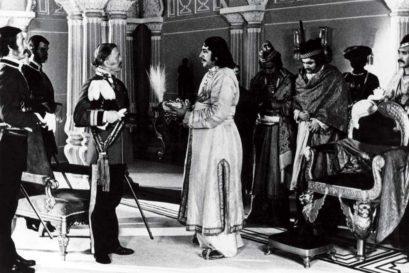 Richard Attenborough as the Scottish General Outram in Satyajit Ray's Shatranj Ke Khiladi (1977)