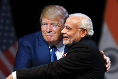 Donald Trump and Narendra Modi (Photo Imaging: Saurabh Singh)