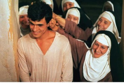 Masetto with the nuns in the film The Decameron (1971)