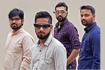 (L to R) Pankaj Kumar Sharma, Chetan Rexwal,  Anurag Saini and Atul Rai