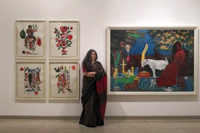 Rekha Rodwittiya at the Reka@Sixty: Transient worlds of belonging exhibition